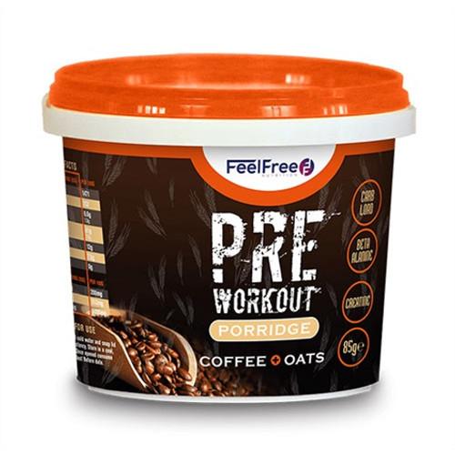 Feel Free Nutrition Pre Workout Porridge  85 G x 16 Pack