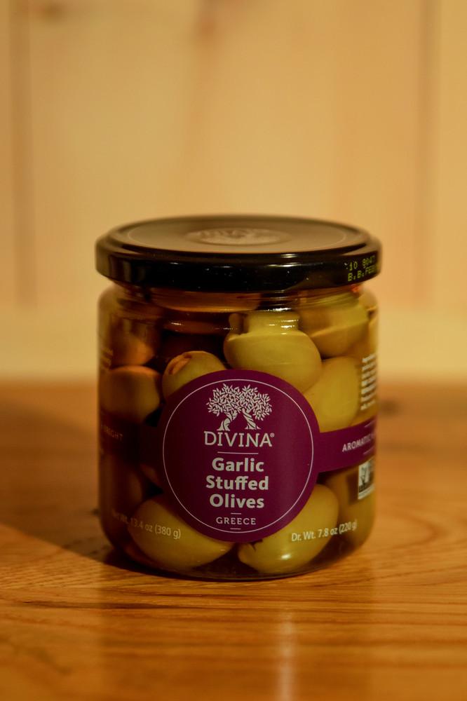 Divina - Garlic Stuffed Olives