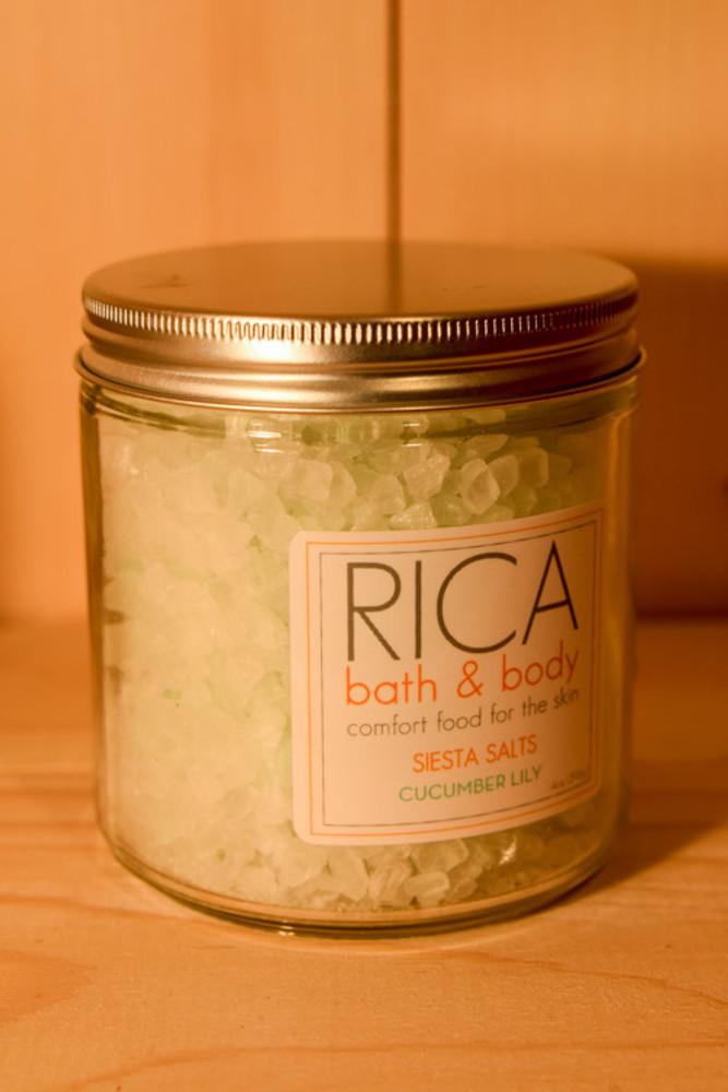 Rica - Cucumber Lily Siesta Salts