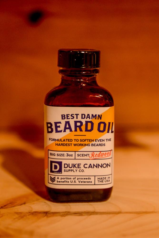 Duke Cannon Supply Co. - Redwoord Beard Oil
