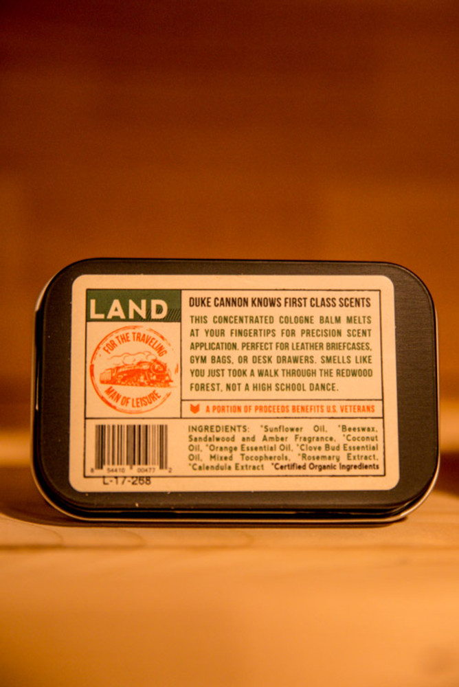 Duke Cannon Supply Co. - Redwood Solid Cologne