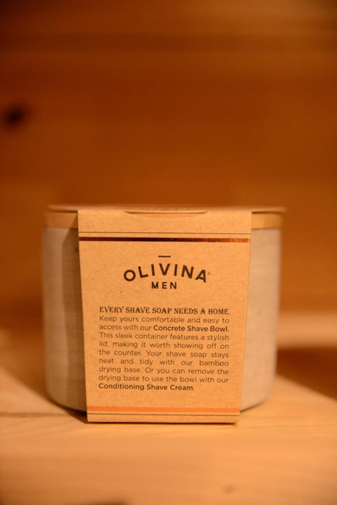 Olivina Men - Concrete Shave Bowl