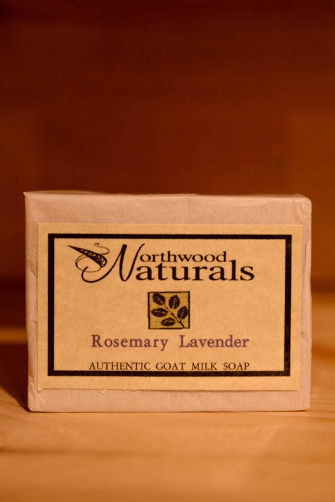 Northwood Naturals - Rosemary Lavender Goat Milk Soap