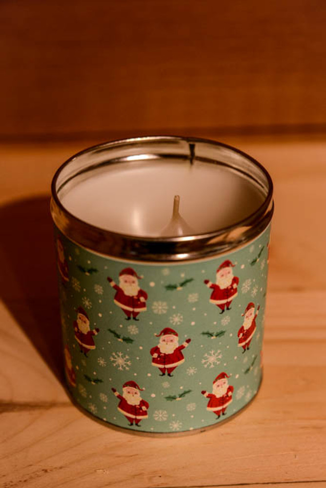 Aunt Sadie's - Santa Claus Christmas Candle