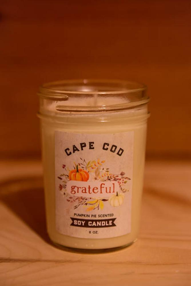 Cape Cod Soy Candle - Pumpkin Pie