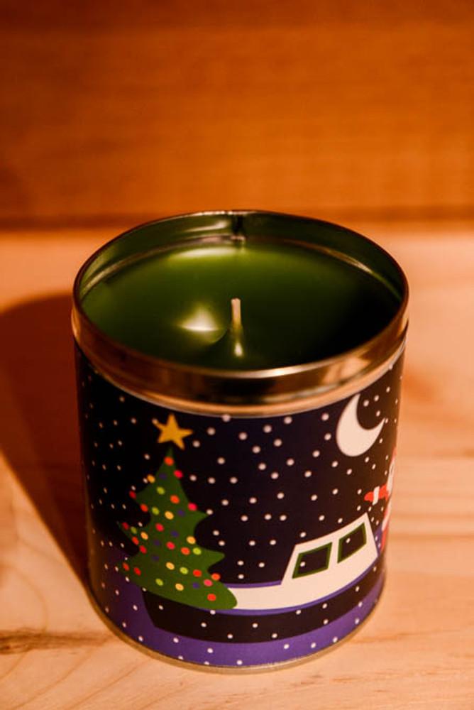 Aunt Sadie's - Mattapoisett Santa Claus Candle