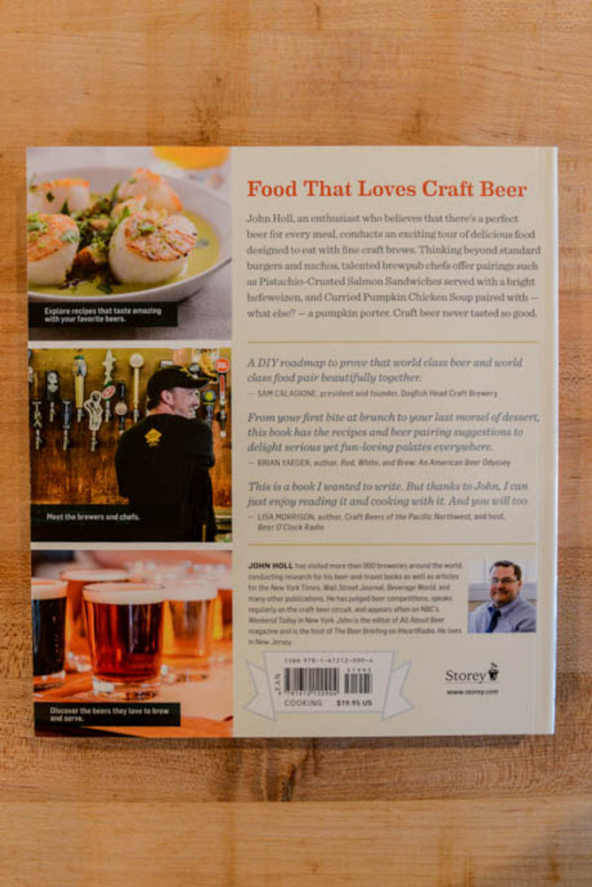 The American Craft Beer Cookbook by John Holl