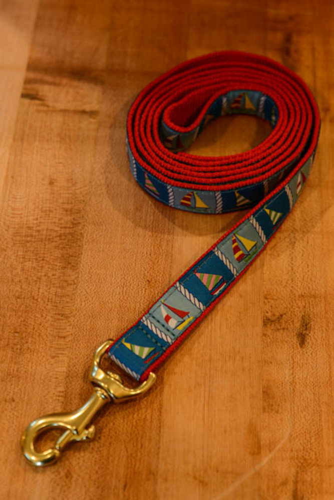 Up Country - Sailboats 6 Foot Dog Leash