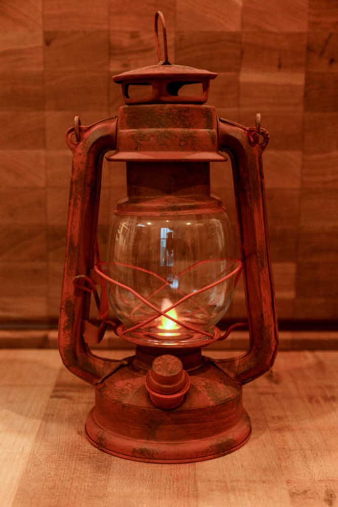 Rustic Electric Lantern