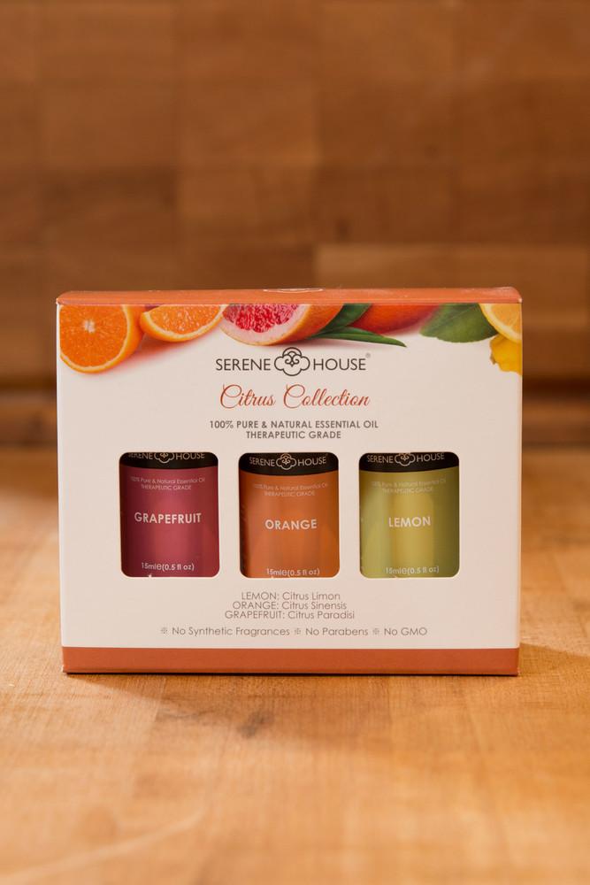 Serene House - Citrus Collection Essential Oils