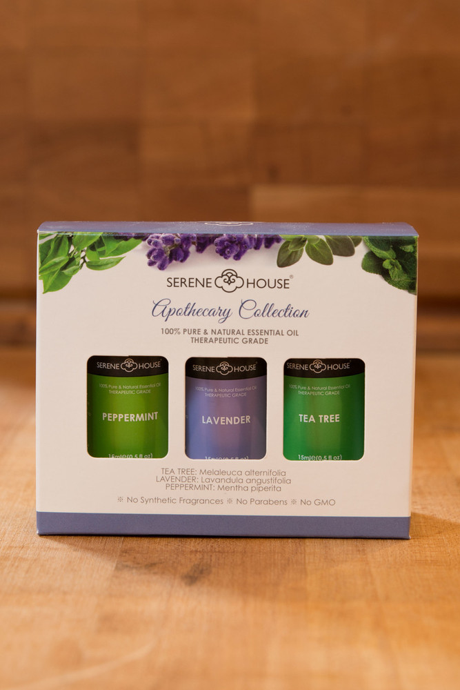 Serene House - Apothecary Collection Essential Oils