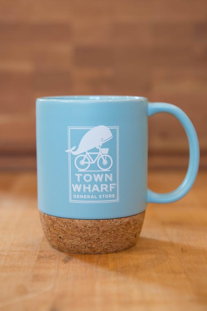 TWGS Logo Ceramic Beck Mug (Light Blue)