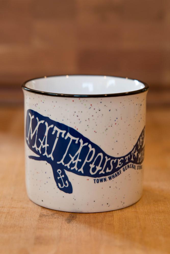 TWGS Mattapoisett Whale Ceramic Cambria Mug (Ivory)