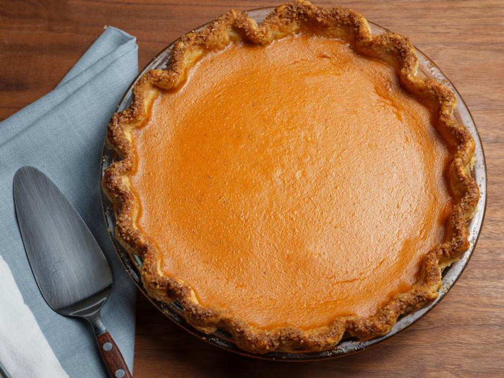 Pain D'avignon Pumpkin Pie from the Town Wharf General Store