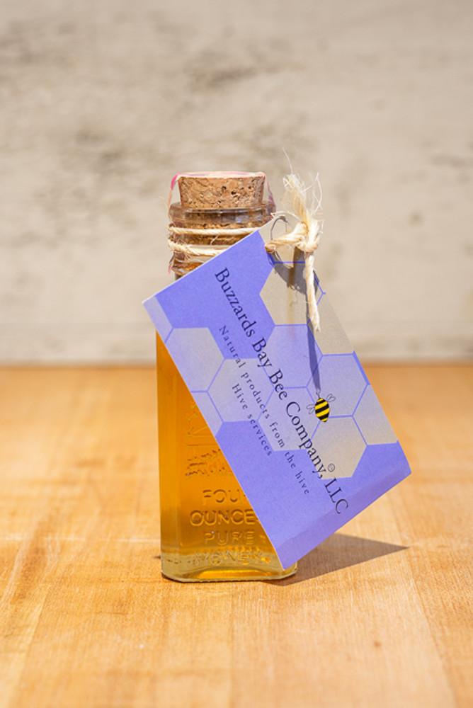 Buzzards Bay Bee Co. - Small Apothecary Bottle of Pure Honey - 4 oz