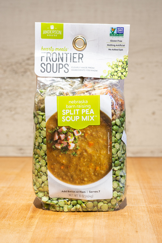 Frontier Soups - Nebraska Barnraising Split Pea Soup Mix