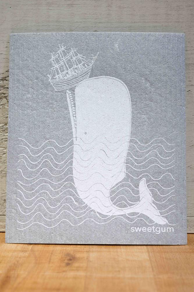 Sweetgum - Whale Swedish Dishcloth