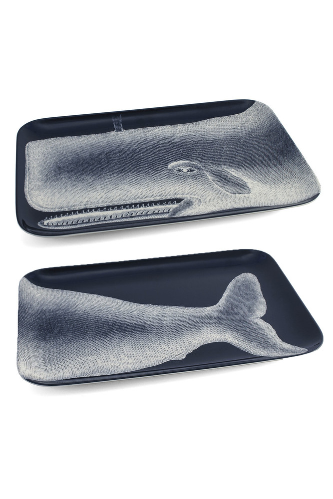 Thomas Paul - Scrimshaw Moby Tray Set