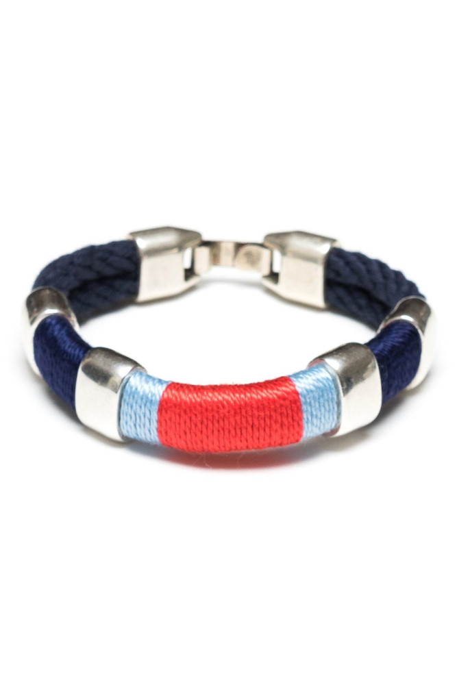 Allison Cole Jewelry - Newbury (Navy/Navy/Blue/Coral/Silver)