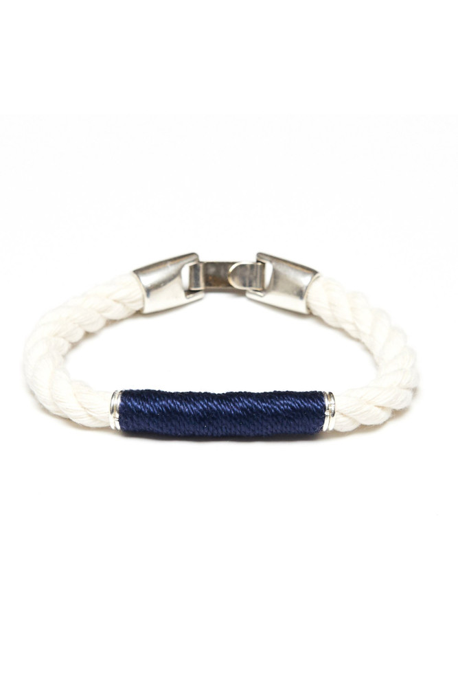 Allison Cole Jewelry - Beacon (Ivory/Navy/Silver)