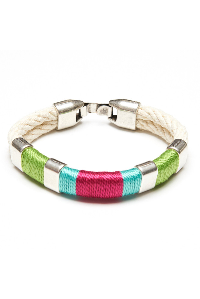 Allison Cole Jewelry - Newbury (Ivory/Lime/Turquoise/Pink/Silver)
