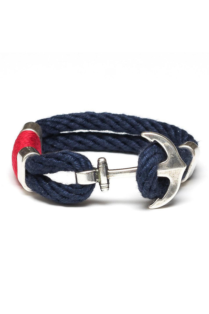 Allison Cole Jewelry - Waverly (Navy/Red/Silver)