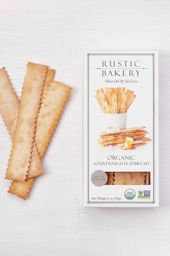 Rustic Bakery - Olive Oil & Sel Gris