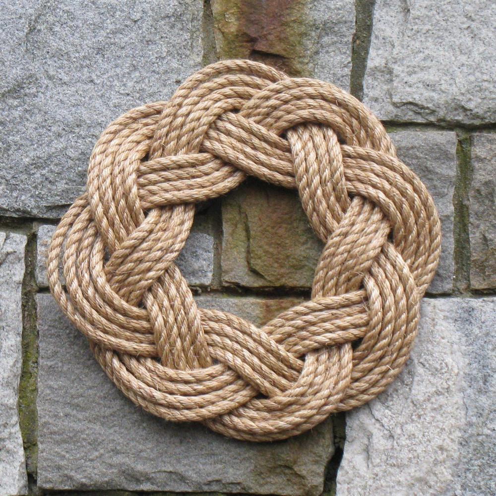Mystic Knotworks - Nautical Manila Rope Wreath