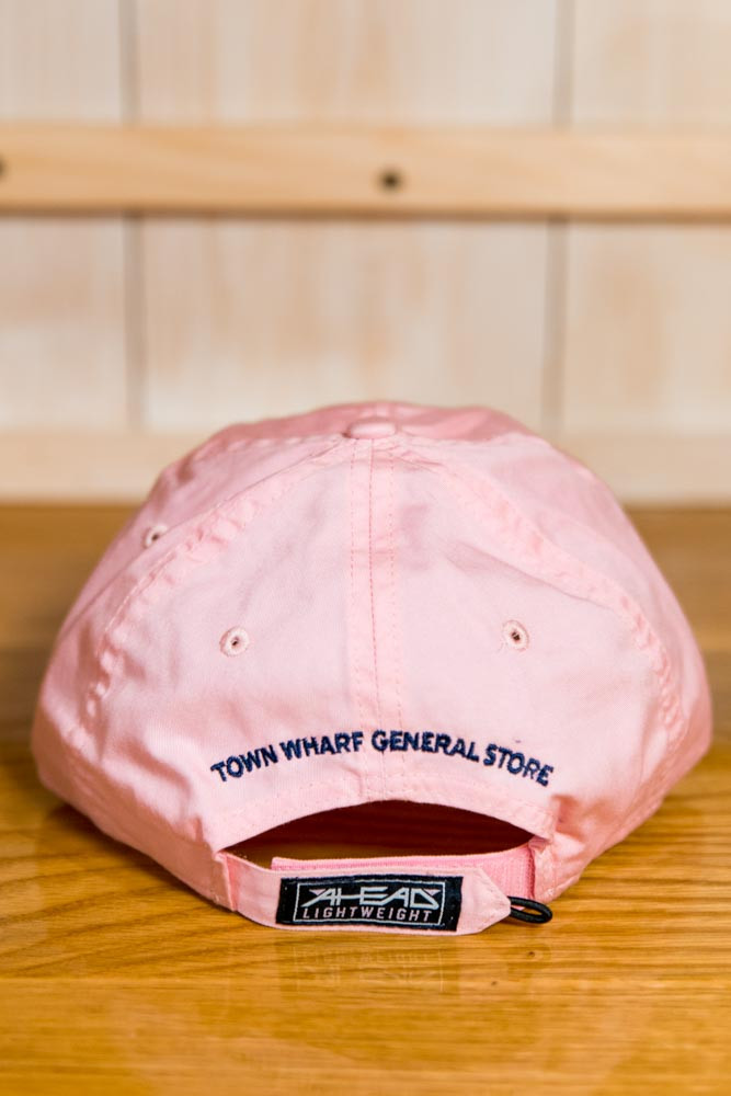 Mattapoisett & Nautical Flag Logo Baseball Hat - Pink
