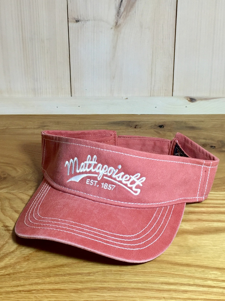 Mattapoisett Visor - Nantucket Red
