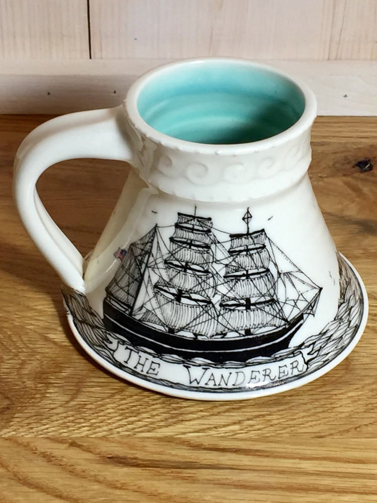 "Handmade ""Wanderer"" Mug"
