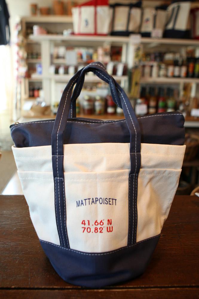 Bucket Boat Bag - Mattapoisett Coordinates