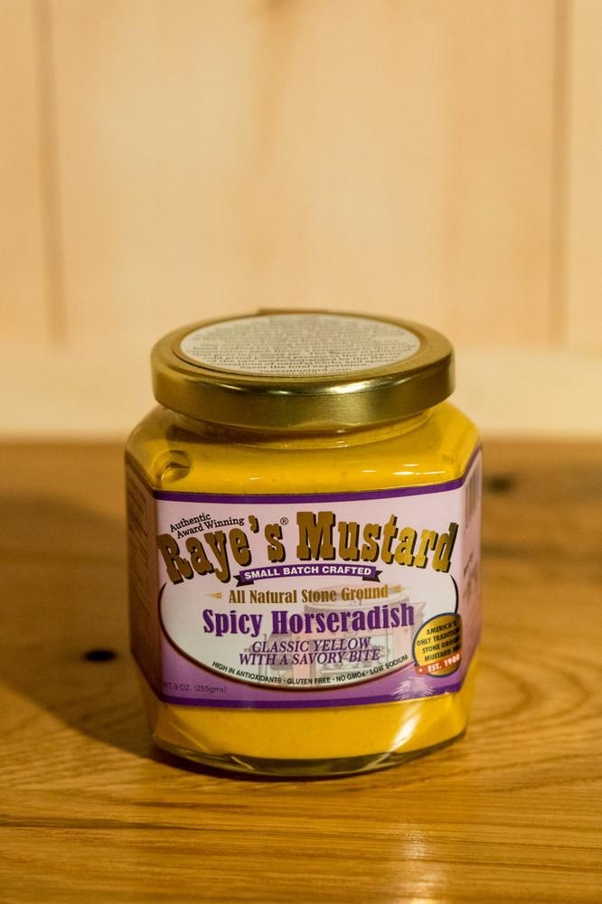 Raye's Mustard - Spicy Horseradish