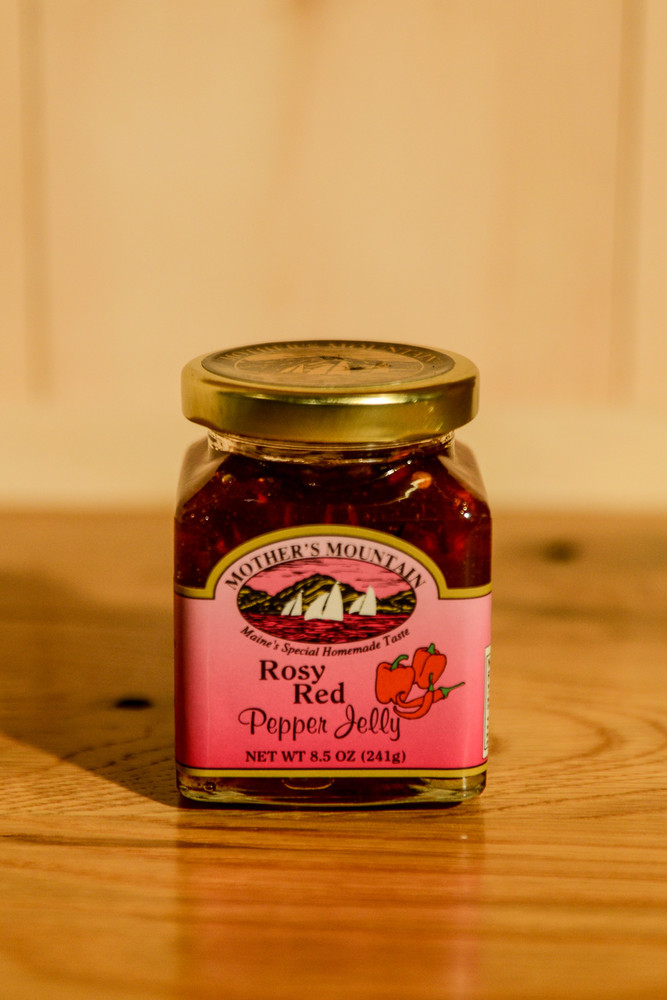 Mother's Mountain - Rosy Red Pepper Jelly