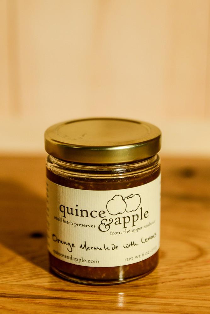 Quince & Apple - Orange Marmalade with Lemons