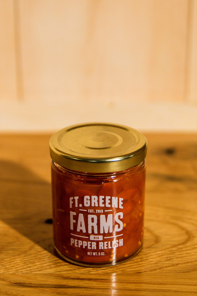 Ft. Greene Farms -  Red Pepper Relish