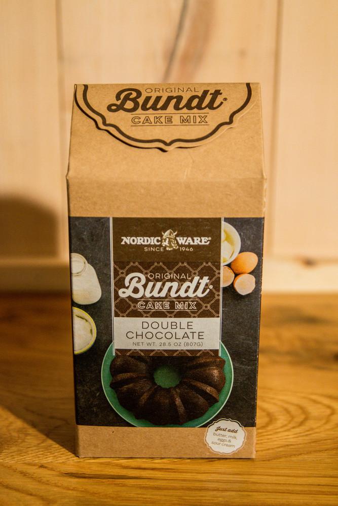Nordic Ware - Double Chocolate Original Bundt Cake Mix
