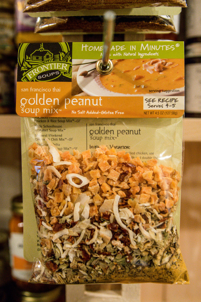 Frontier Soups - San Francisco Thai Golden Peanut Soup Mix