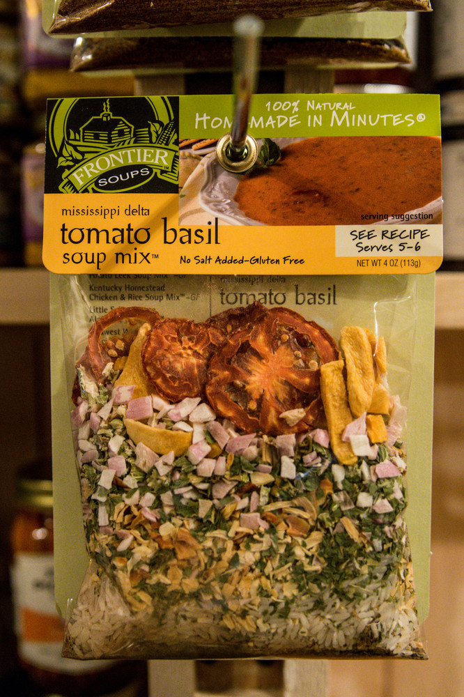 Frontier Soups - Mississippi Delta Tomato Basil Soup Mix