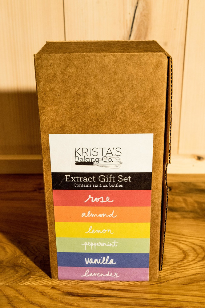 Krista's Baking Co. - Extract Gift Set