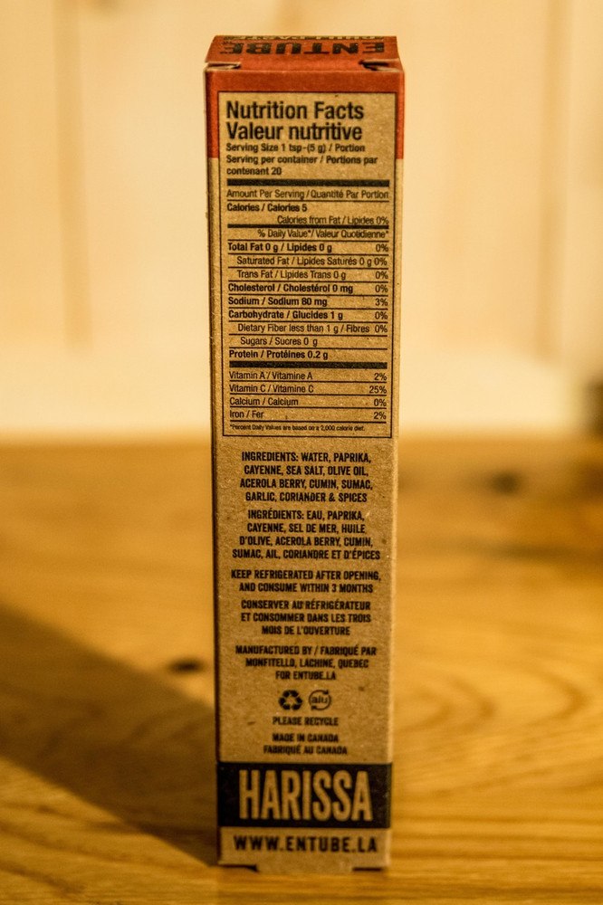 Entube - Harissa Chili Paste