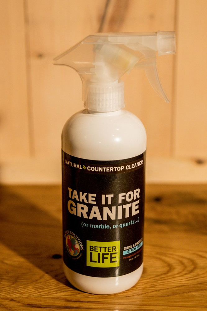 "Better Life - ""Take it For Granite""  Countertop Cleaner"