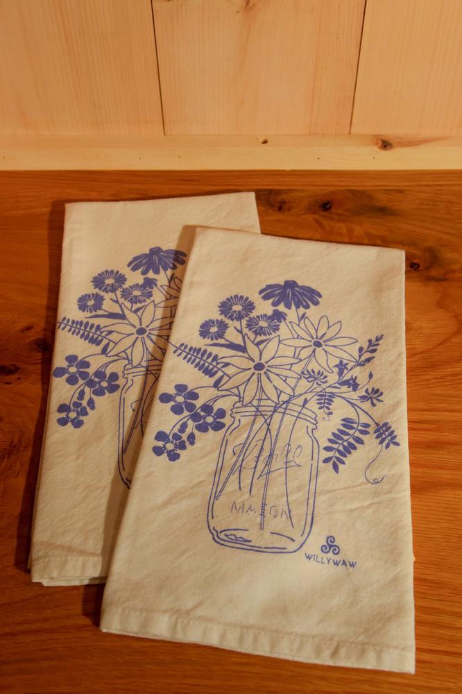 Willywaw - Mason Jar Tea Towel