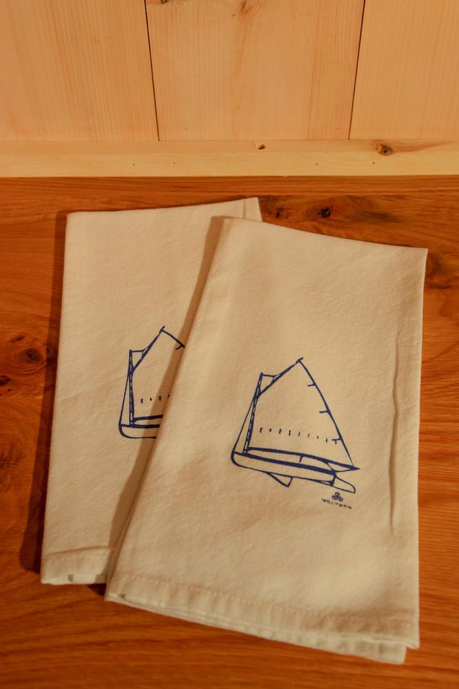 Willywaw - Beetle Cat Boat Tea Towel