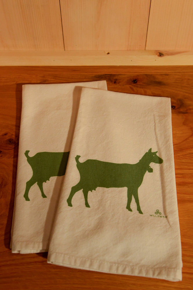 Willyway - Goat Tea Towel