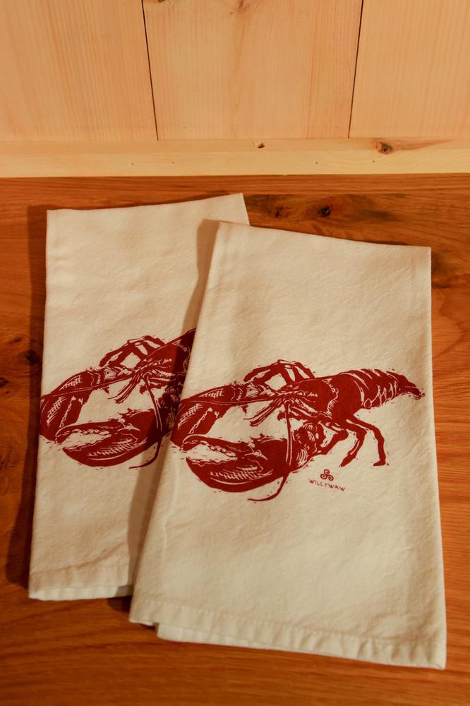 Willywaw - Lobster Tea Towel