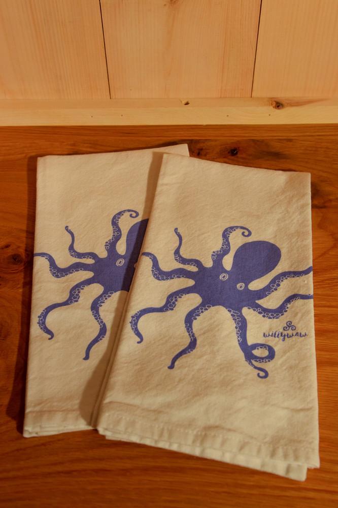 Willywaw - Octopus Tea Towel