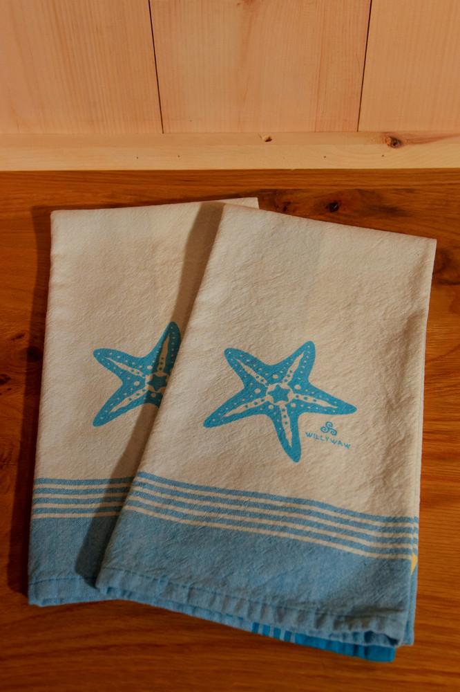 Willywaw - Starfish Tea Towel