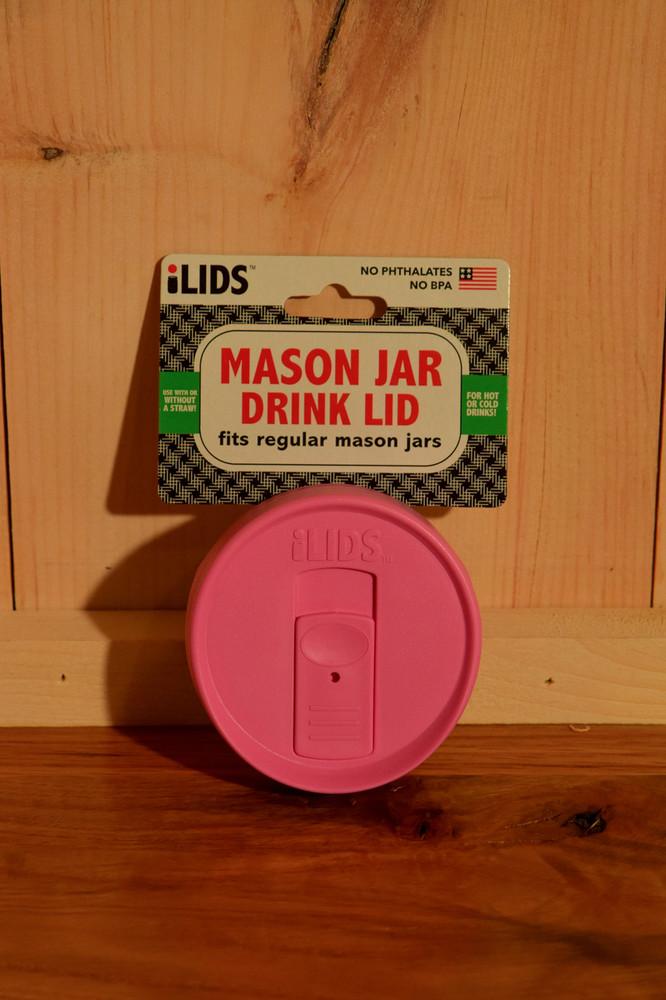 iLIDS - Mason Jar Drink Lid