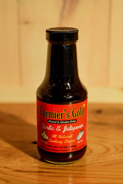 Cormier's Gold - Garlic & Jalapeno Sauce